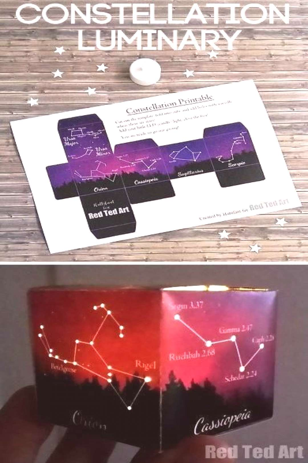 5 Constellations Kids Should Know - a great constellations printable to help kids learn about