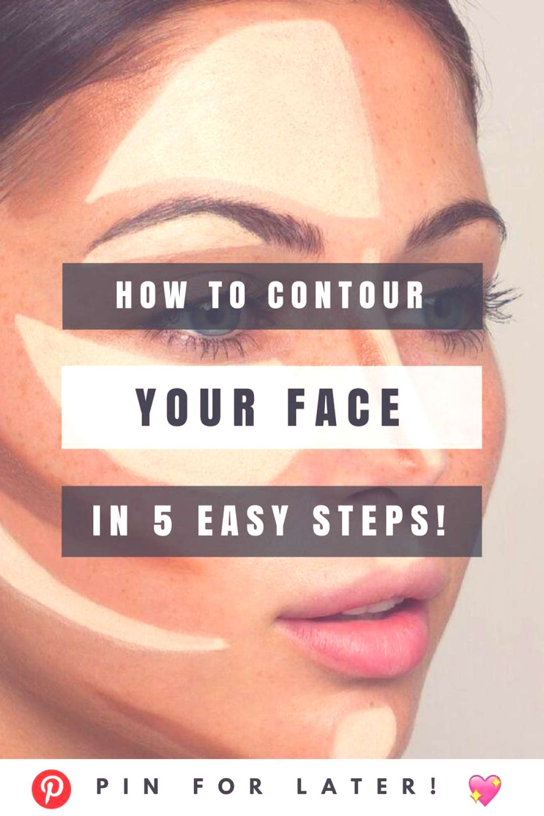 Contouring incorrectly can completely ruin your look.  Watch this short tutorial for properly cont