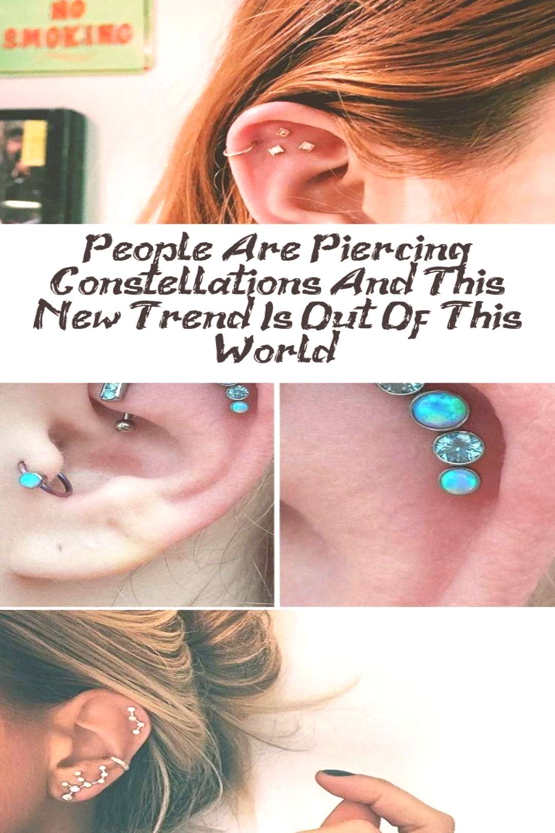 People Are Piercing Constellations And This New Trend Is Out Of This World - Piercing | DcHou