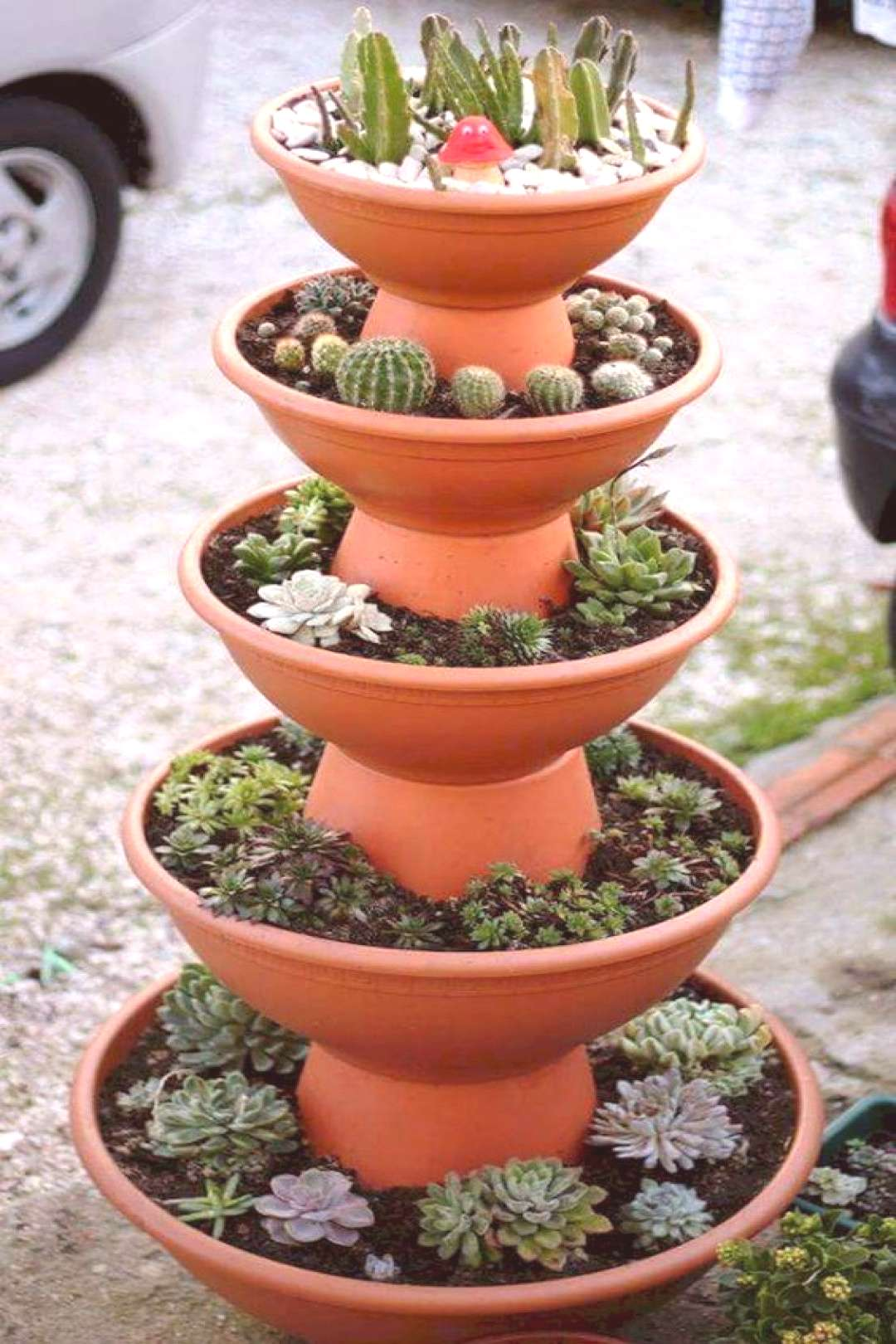 100 beautiful DIY pots and container garden ideas (101)  ve