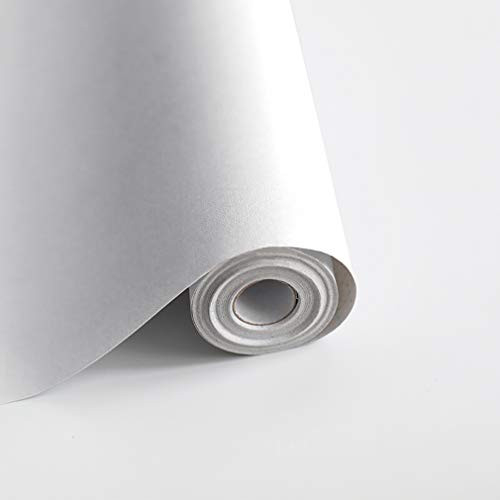 118quotx17.7quot White Wallpaper White Contact Paper Waterpoof