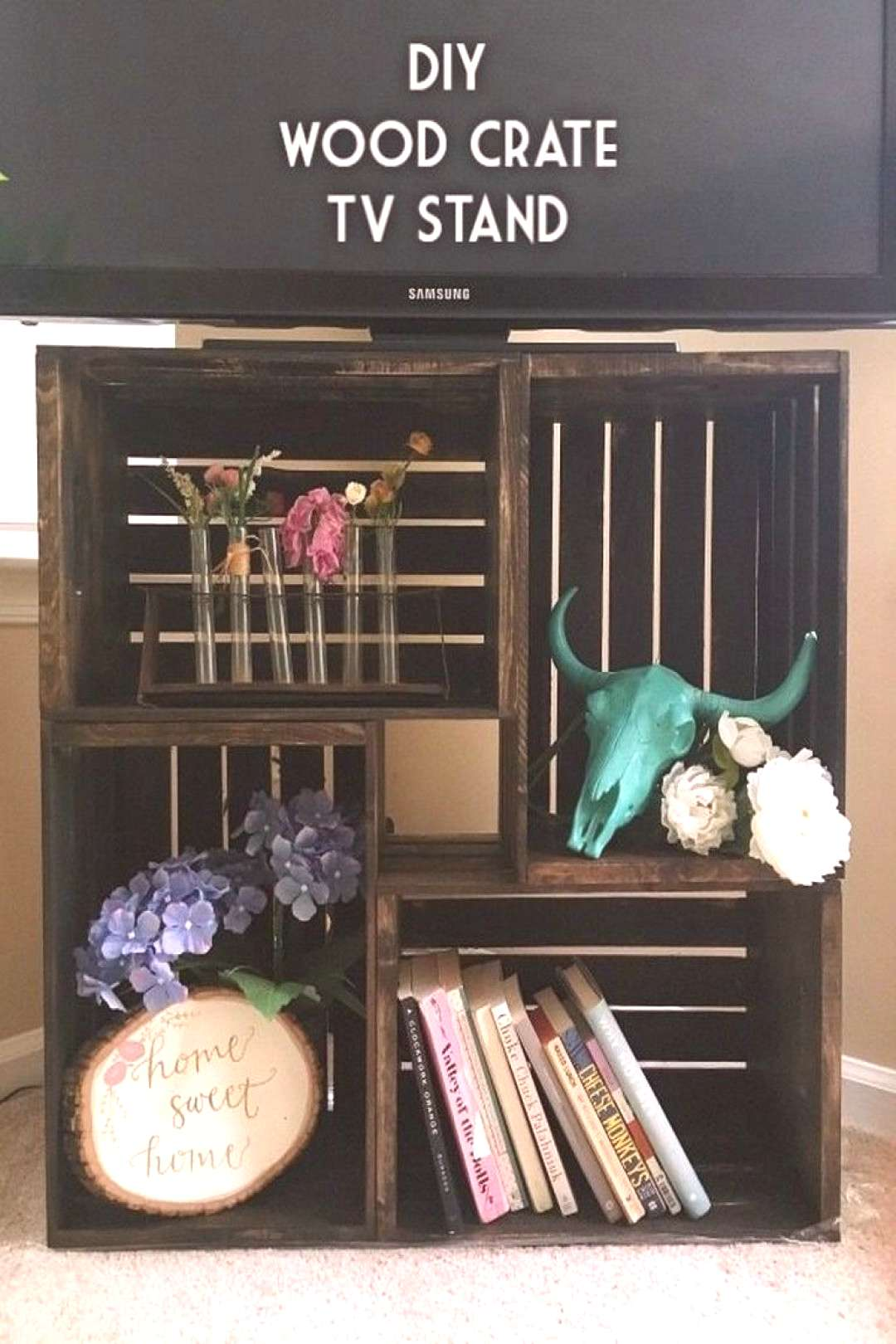 15+ Smart DIY TV Stands and Media Consoles You Can Totally Build at Home - 15+ Smart DIY TV Stands