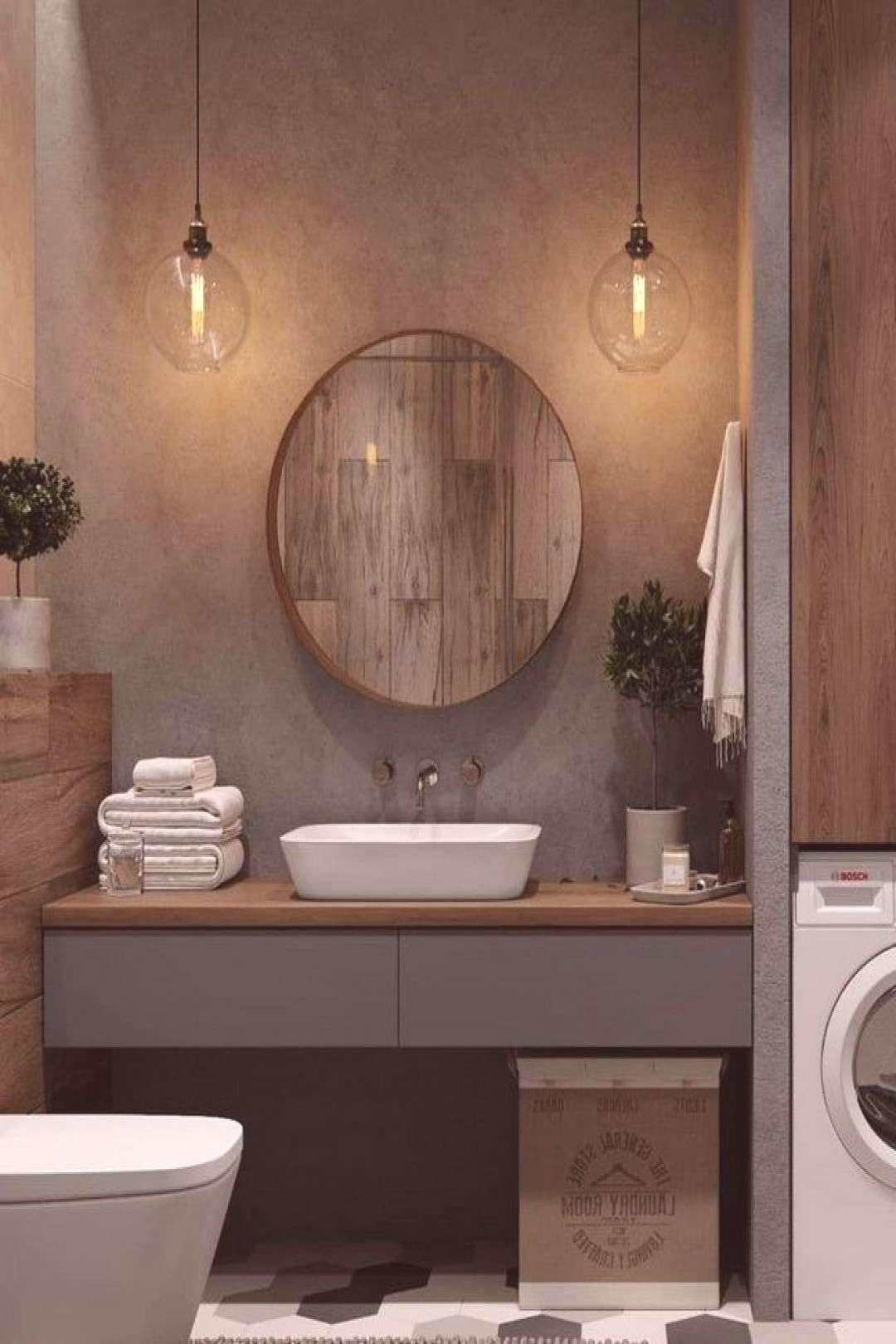 +16 One of the Most Overlooked Options for Contemporary Bathroom Leafy Wallpaper - walmartbytes