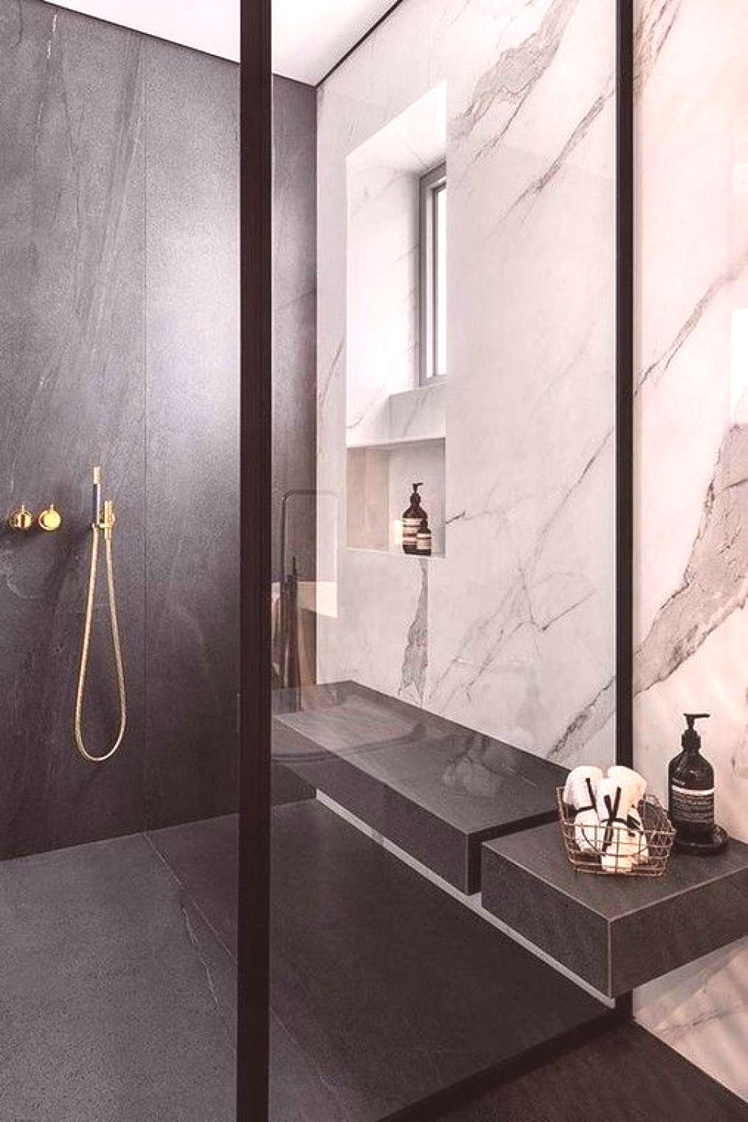 +27 Contemporary Bathrooms Designs To Inspire You  Figure out how to select the proper size tiles