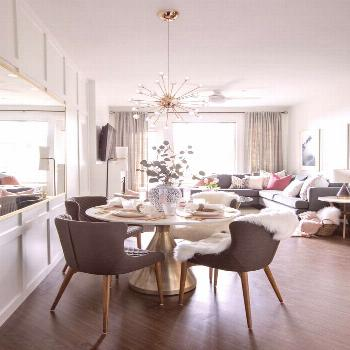 A Condo with Sophisticated Drama | Rue