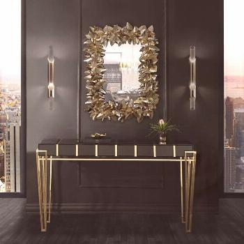 A CONTEMPORARY ENTRYWAY  When Luxxu is not busy creating the most beautiful chandeliers ever, proba