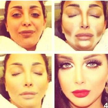 Before and After contouring  Makeup -  Before and After contouring  Makeup  -
