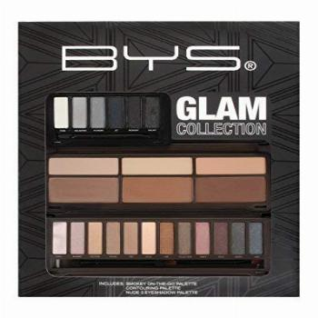 BYS Glam Collection with Smokey Eye palette, Contouring