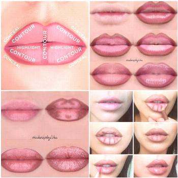 Comment faire Lip Contouring Instructions Comment faire Lip Contouring Instructions