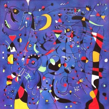 Constellations, Miro The spectacle of the sky upsets me. I am shocked when ... - -