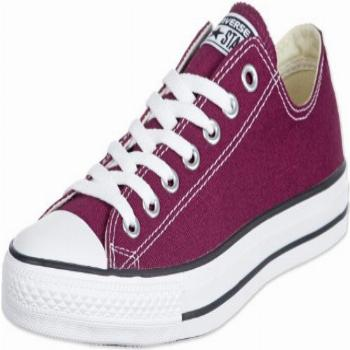 Converse Unisex Chuck Taylor All Star Low Top Maroon
