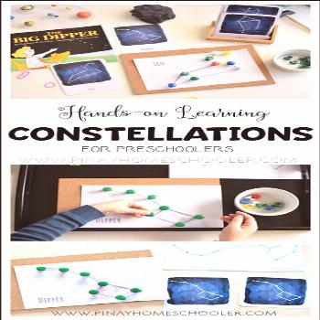 Hands-on Learning of Constellations for Preschoolers,#constellations