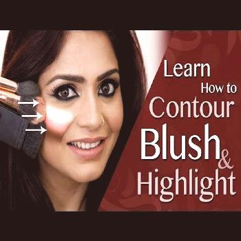 How To Contour, Blush And Highlight | Easy Contouring Tips | 2017 Makeup Tutoria... -  How To Conto