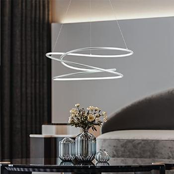 MADEM Modern LED Pendant Light Dimmable Contemporary