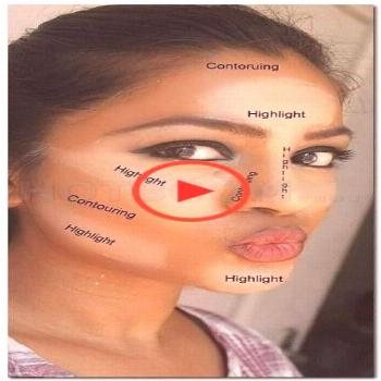 Make-up tutorial contouring step by step skincare 49 trendy ideas ... -  Make-up tutorial Make-up t