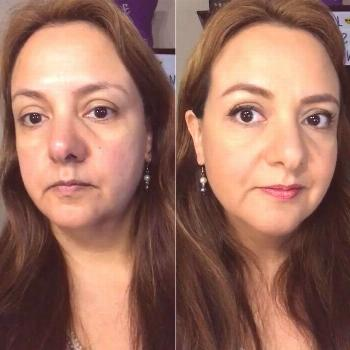 Maquillaje Antes y después! Before and after makeup look!