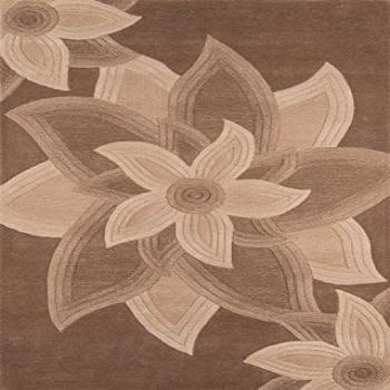 Momeni Rugs Delhi Collection 100% Wool Hand Carved & Hand