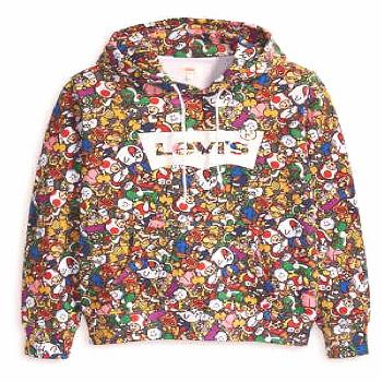 NEW Levi's X Super Mario Graphic Pullover Hoodie - IN HAND FAST SHIP!! (ebay link)