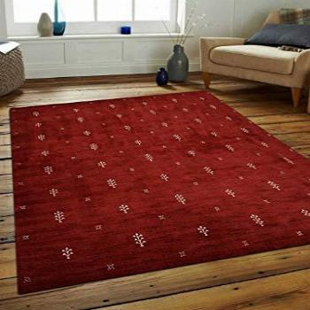 Rugsotic Carpets Hand Knotted Gabbeh Wool 8'x11' Area Rug