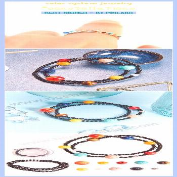 Solar system jewelry solar system projects for kids, solar system ar... - -
