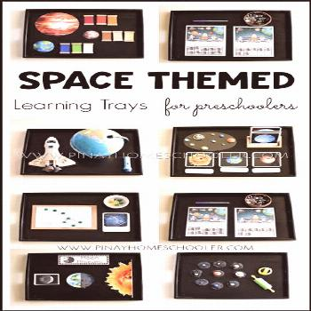 Space themed activities for preschoolers