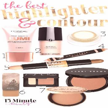 The Best Highlighting and Contouring Makeup -  These are the best and easiest to use highlighting T