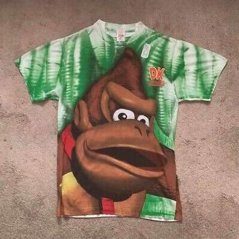 Vintage 1994 Nintendo Donkey Kong Country Wear T-Shirt XL (ebay link)