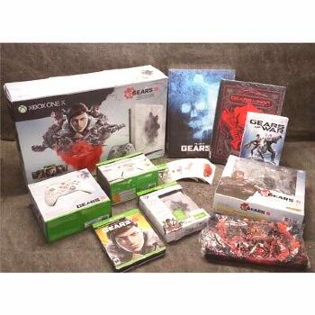 XBOX One X 1TB Console Gears 5 Ultimate Edition Bundle: Game Books T-Shirt 1787 (ebay link)