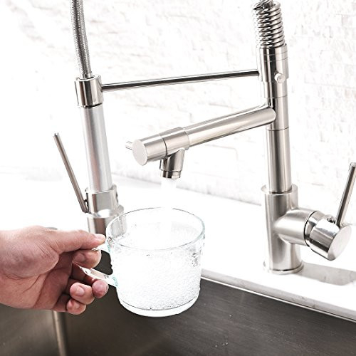 Aimadi Contemporary Kitchen Sink Faucet,Single Handle