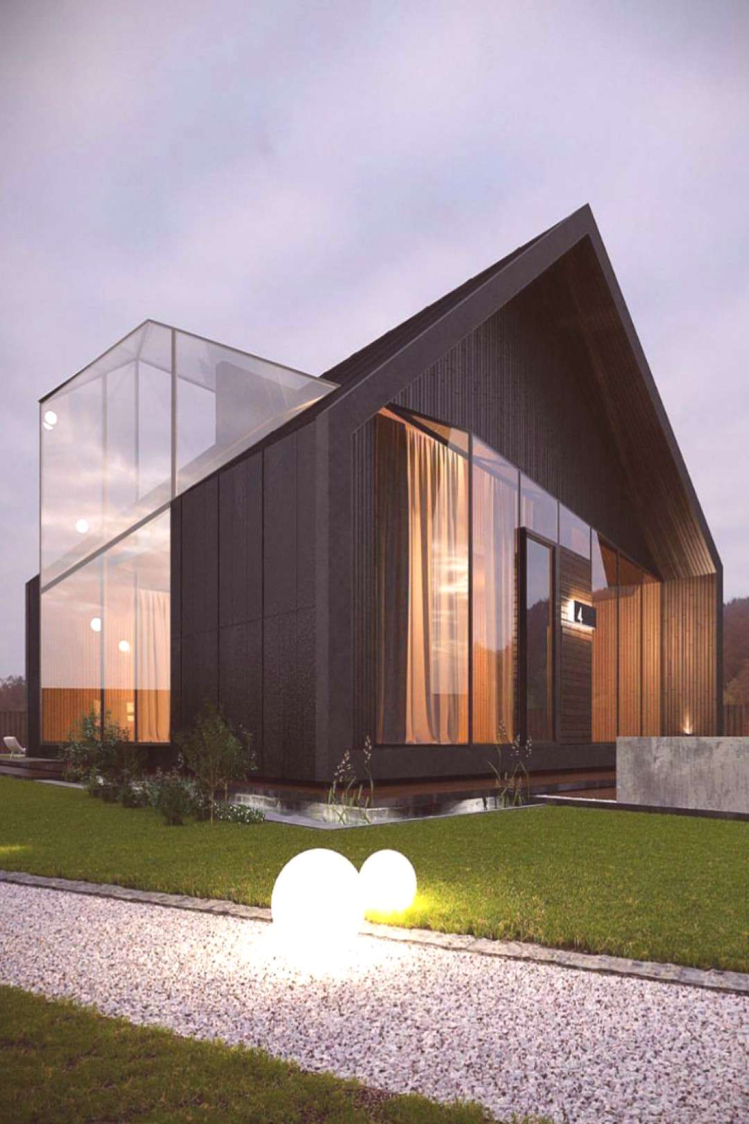 Analyzing The Best Contemporary House Designs - House Topics -  The use of light colors and big win
