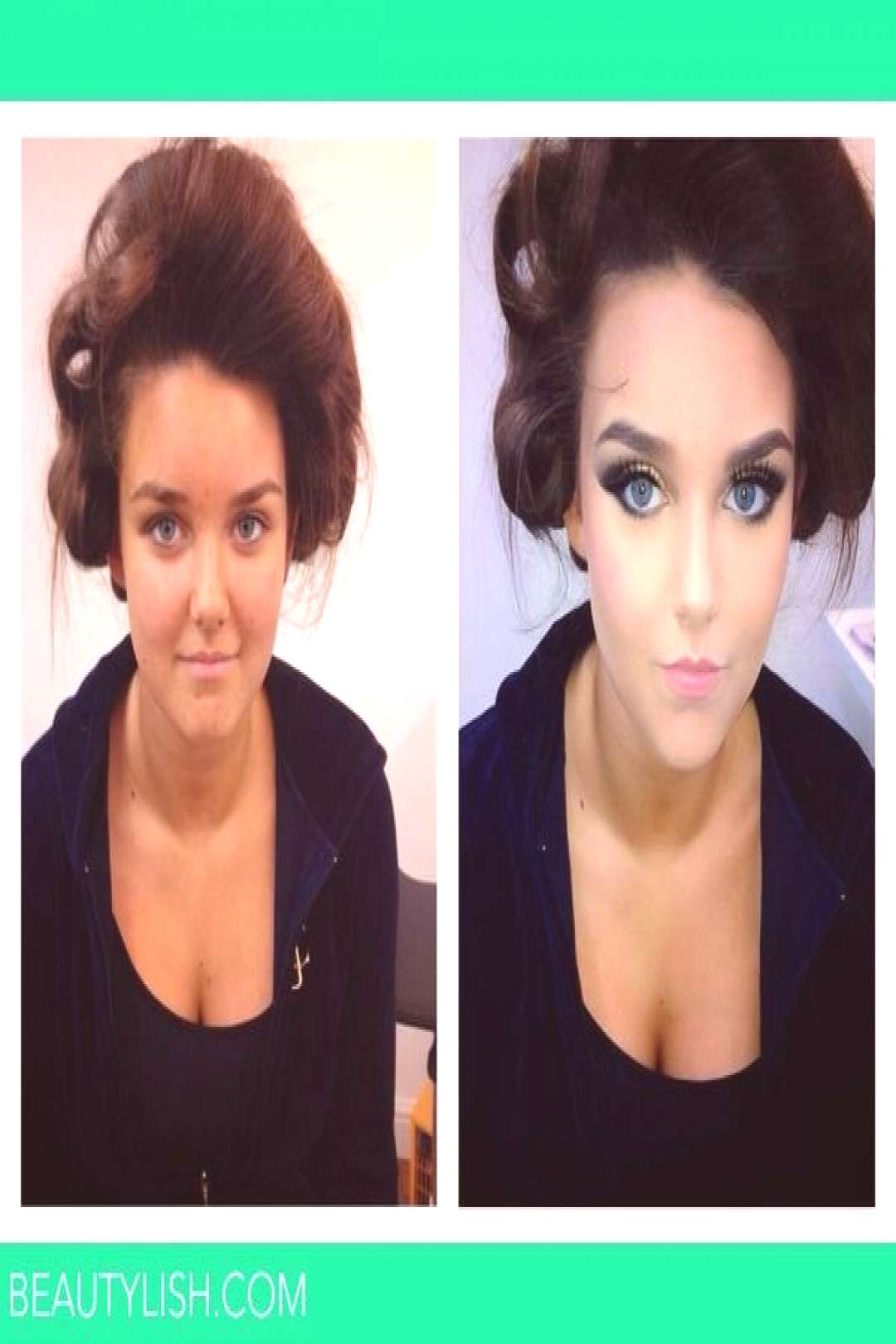 Before and after contouring - Before and after contouring -