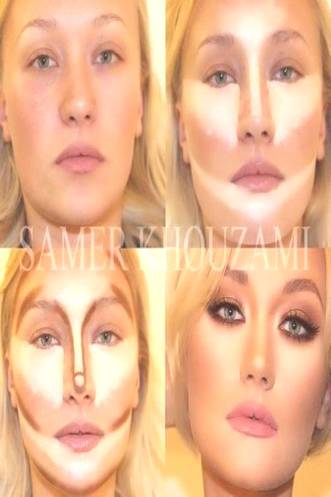 Before and after contouring tutorials ,  Before and after contouring tutorials ,