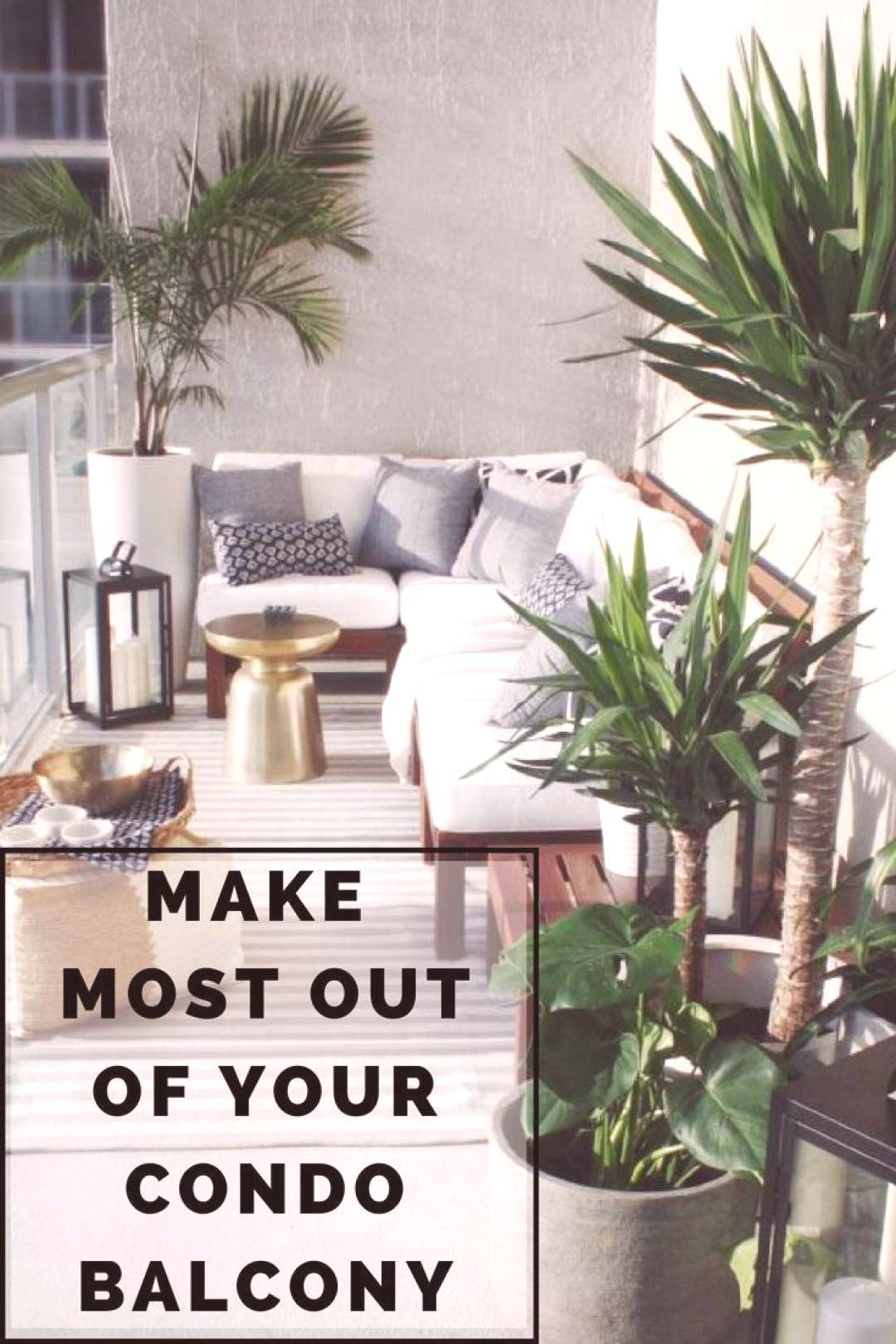 Breathing Life and Functionality To Your Condo Balcony via @jamiesarner