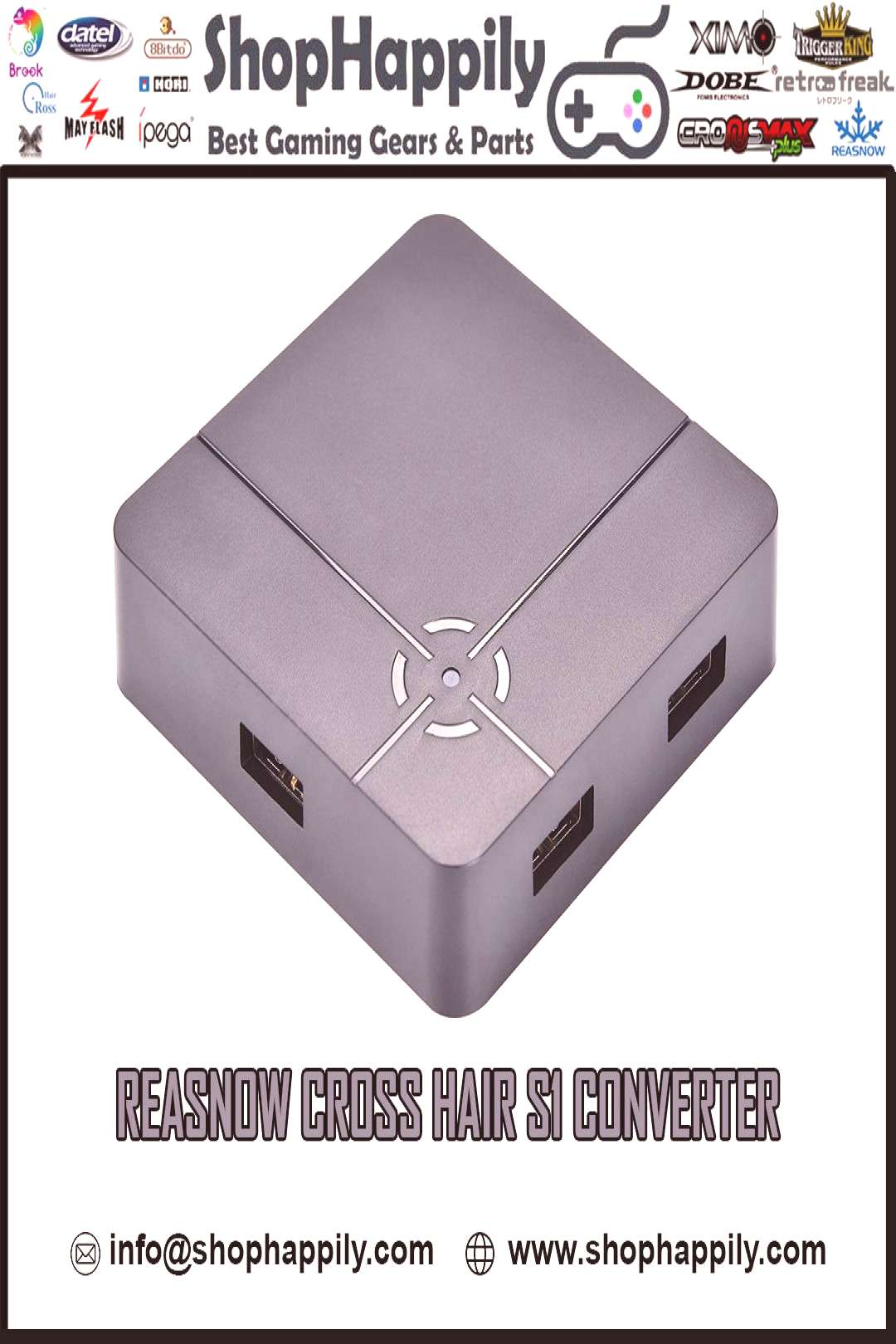 BUY REASNOW CROSSHAIR S1 CONVERTER All-round converter, most of the consoles in the market are comp