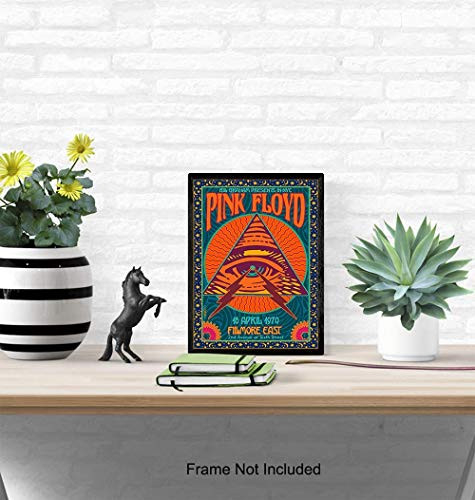 Concert Posters - 8x10 Retro Vintage Music Poster -
