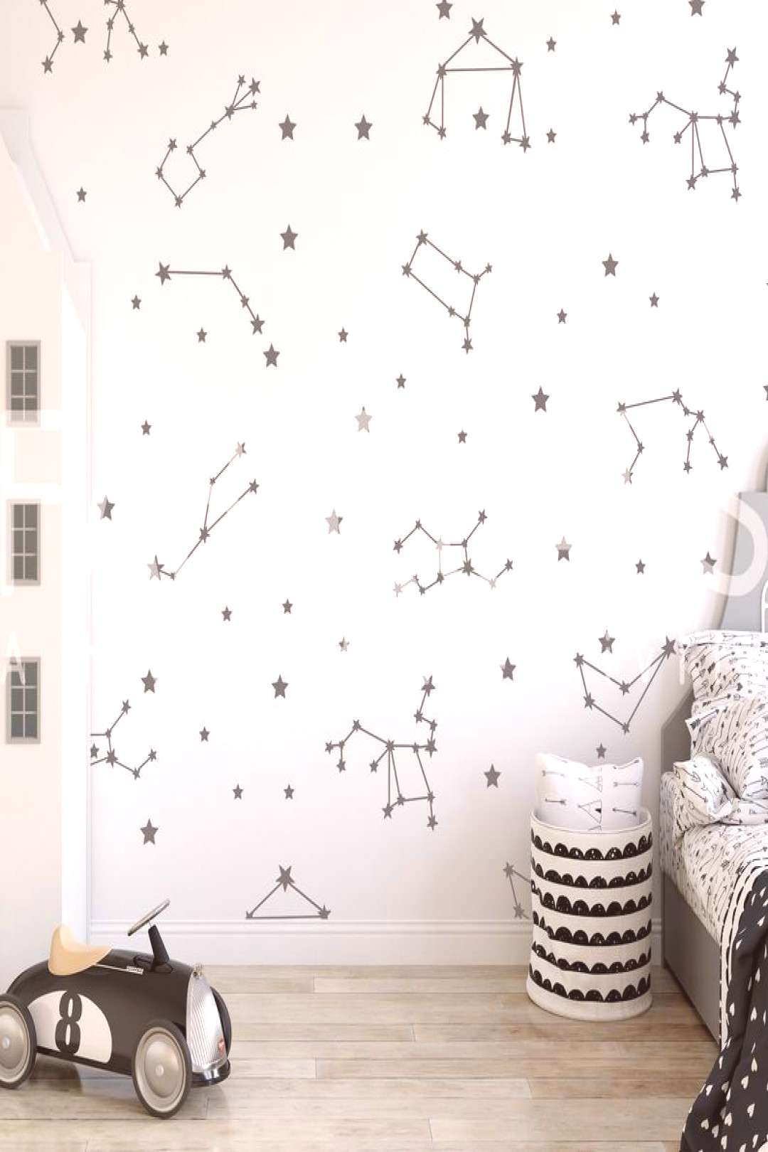 Constellations Map Wall Decal#constellations