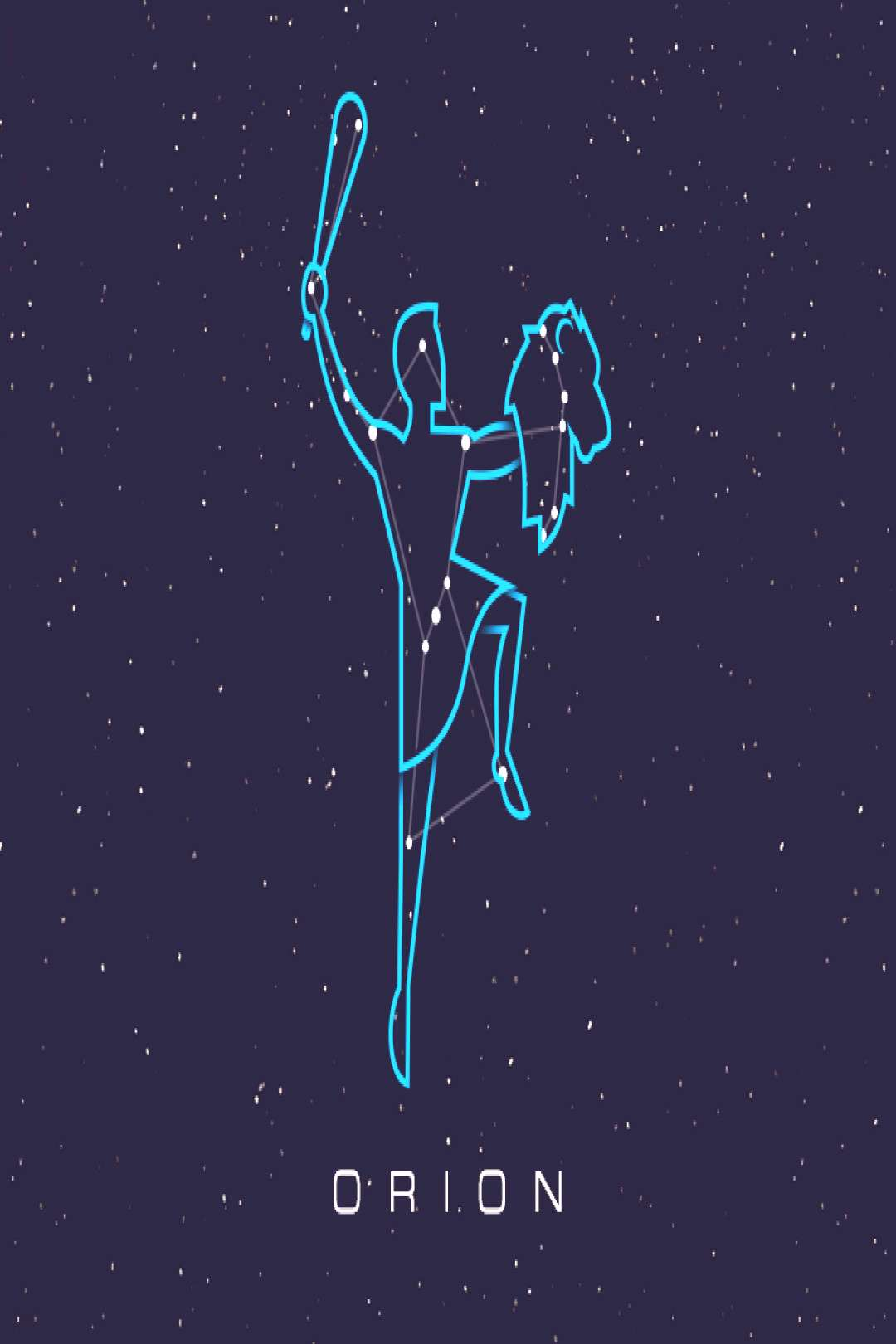 Constellations - Orion,  Constellations - Orion,