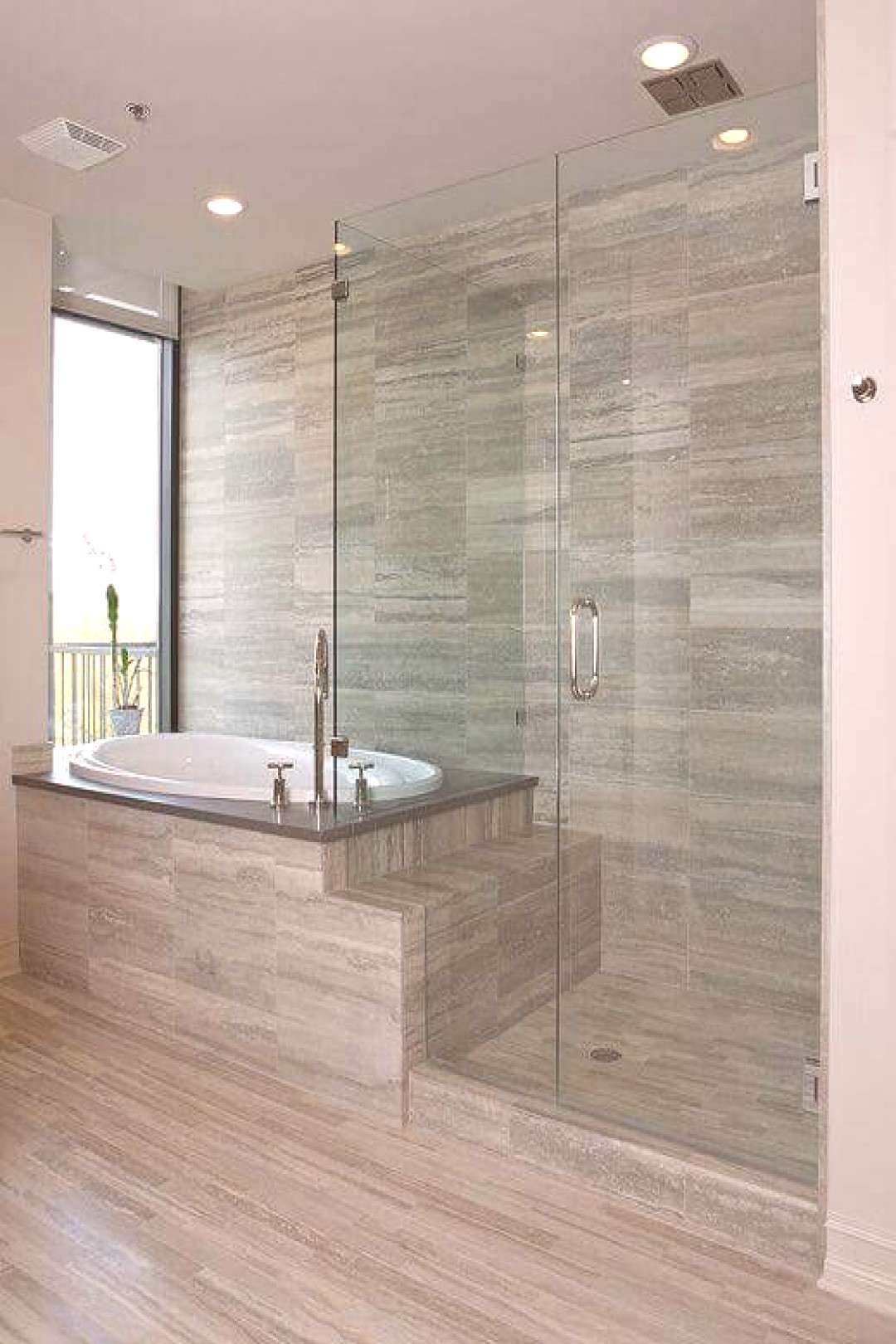 Contemporary bathrooms are all about the clean lines, fresh look and a dash of a luxury look. For m