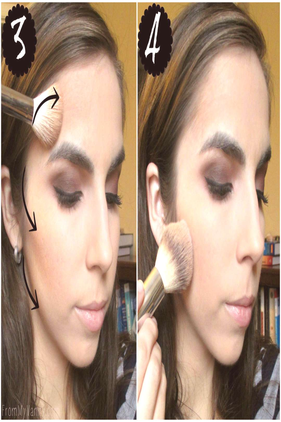 Contouring for beginners // Step-by-step instructions // Contour amp Buff // FromM ... - Contouring f