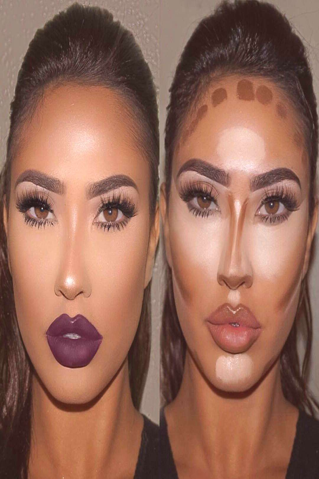 Contouring for oval face shape#contouring