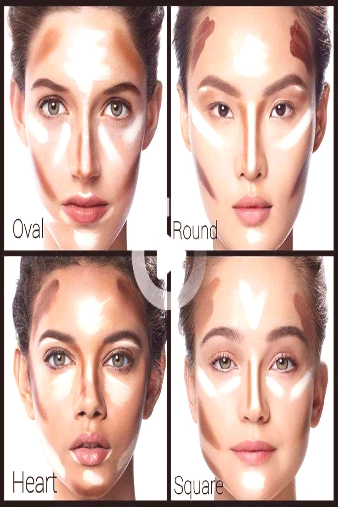 Contouring HomemadeBeautyProducts contour HomemadeBeautyProducts Le co – contour Le contour