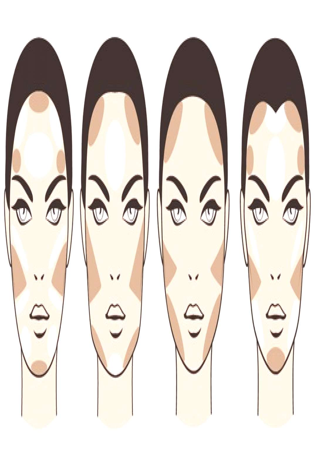 Contouring: This is how the make-up writ ... -  Contouring is used differently depending on the sha
