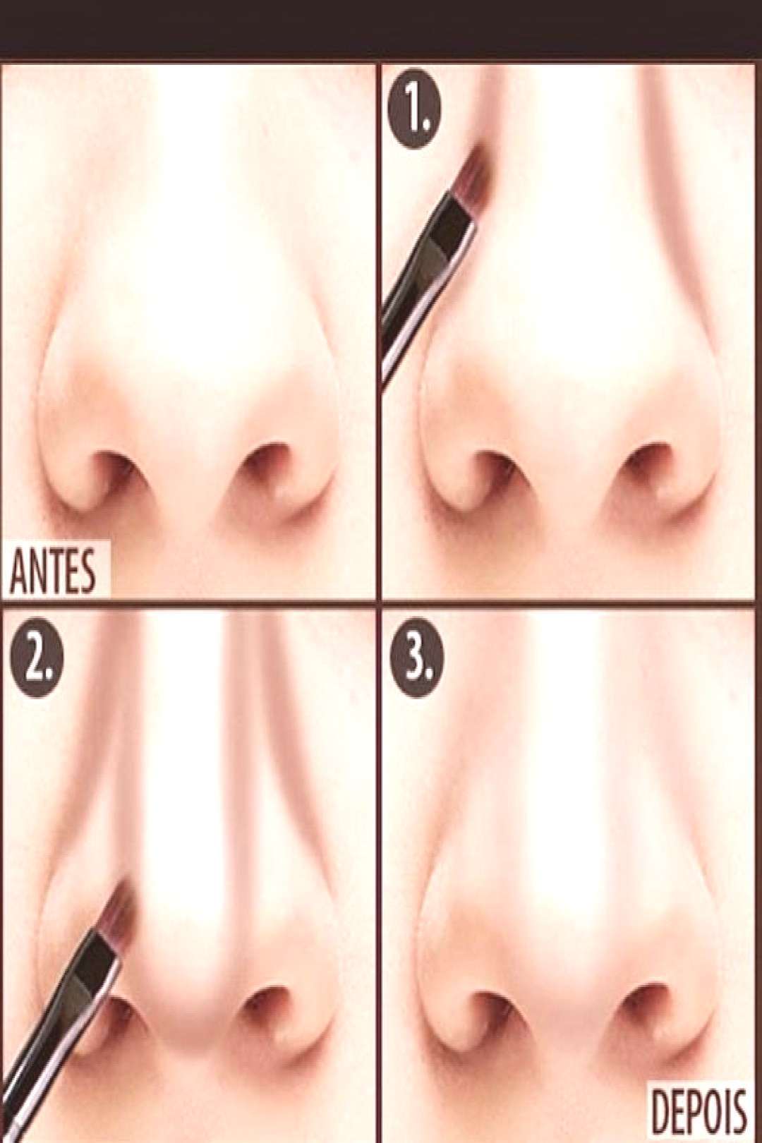 contouring trick for slimmer effect - contouring trick for slimmer effect -