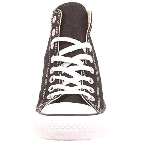 Converse All Star Hi Unisex Style Sneakers, Black, Mens 7