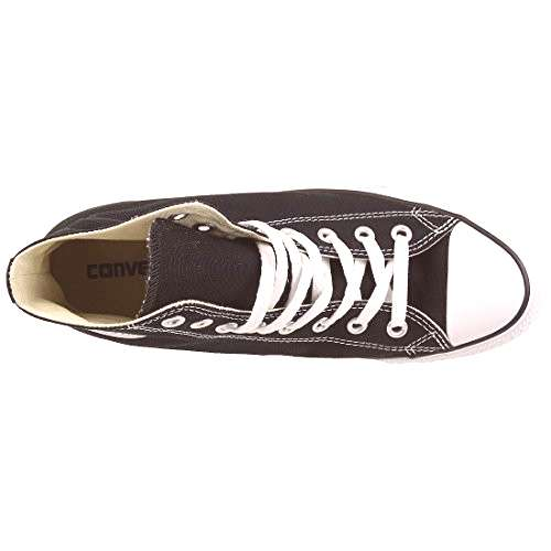 Converse All Star Hi Unisex Style Sneakers, Black, Mens 8