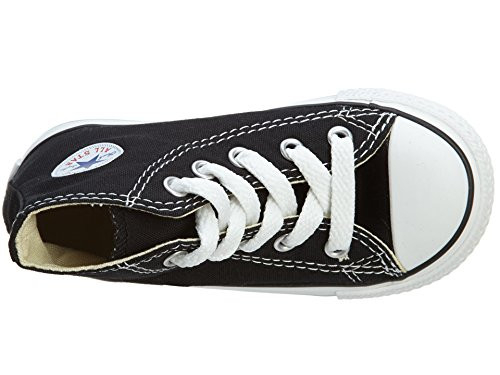 Converse Inft C/T All Star Style 7J231-BLACK Toddler Size 7
