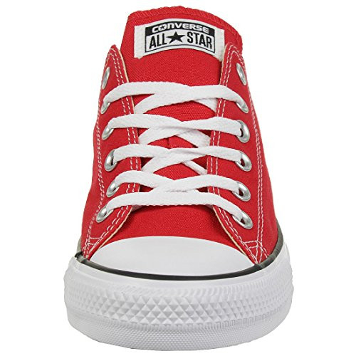 Converse Mens Chuck Taylor All Star Lo Canvas Sneaker Red
