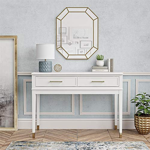 CosmoLiving by Cosmopolitan Westerleigh, White Console Table