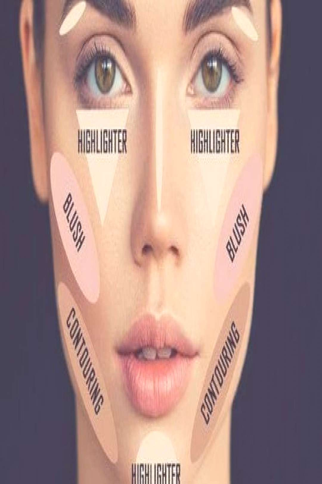 Detailed contouring guide that explains how to make a face professionally … – Fitness - makeup