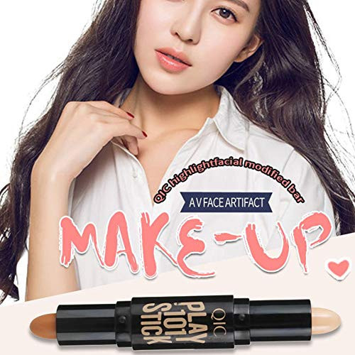 Double-Head Make up Concealer Contouring Face Highlighters